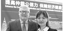 Straus Dean Tom Stipanowich Interviewed by China Legal Daily on Mediation and Arbitration
