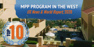 SPP Moves Up Nine Spots in US News and World Report Rankings. Continues as Top 10 MPP Program in the West