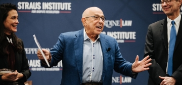 The Honorable Daniel Weinstein Joins Straus Institute for Dispute Resolution as Distinguished Mediator in Residence