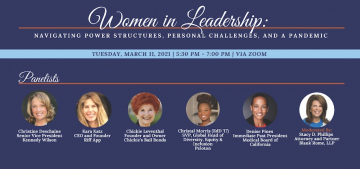 Graduate School of Education and Psychology to Host Women in Leadership Event