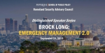 Brock Long - Pepperdine School of Public Policy