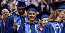 Pepperdine Graziadio Business School commencement ceremony