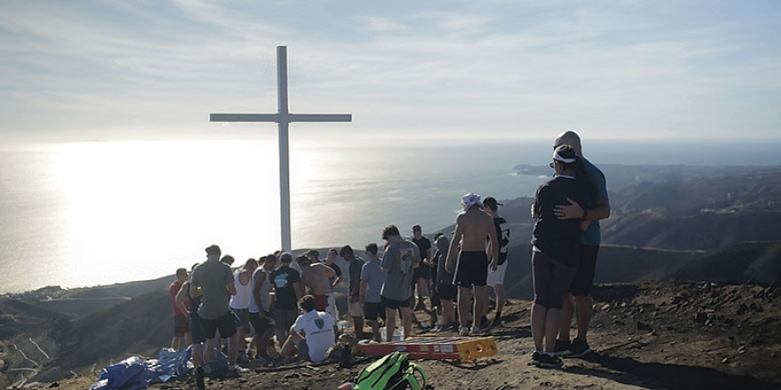 Surveying the Cross - Pepperdine Magazine