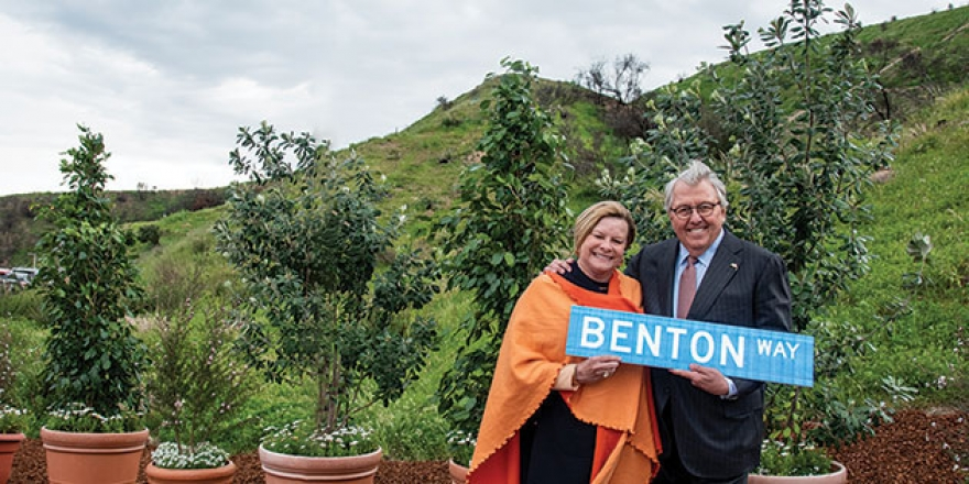 Debby and Andrew K. Benton - Pepperdine University