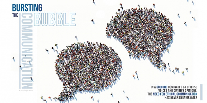 The Communication Bubble - Pepperdine Magazine
