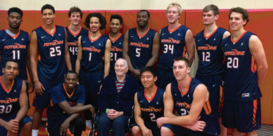 Men's basketball team - Pepperdine University