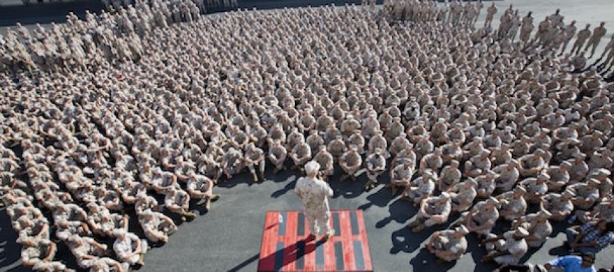 Members of the US Marine Corps - Pepperdine Magazine