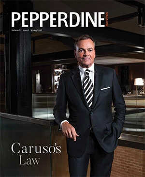Spring 2020 Pepperdine Magazine Cover - Pepperdine University