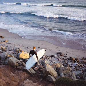 Surfing in Malibu - Pepperdine University