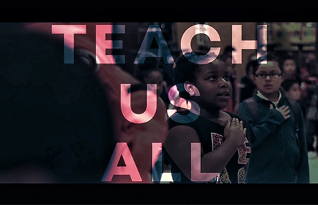 Teach Us All graphic