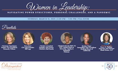 Women in Leadership: Navigating Through Power Structures, Personal Challenges, and a Pandemic - Pepperdine Graduate School of Education and Psychology